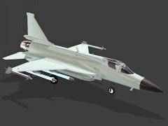 国产枭龙战机设计模型下载