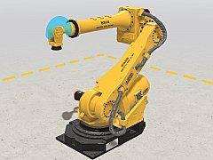 工业机器人交互式展示