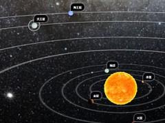 太阳系交互式地理知识演示