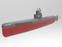 国产035型潜艇设计展示